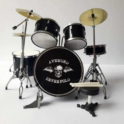 Avenged Sevenfold Miniature Drum kit