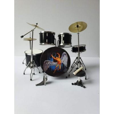 Led Zeppelin Miniature Drum kit