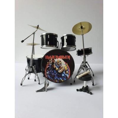 Iron Maiden Miniature Drum kit