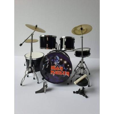 Iron Maiden Miniature Drum kit #2