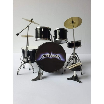 Metallica Miniature Drum kit