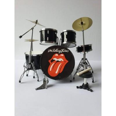 Rolling Stones Miniature Drum kit (Tongue)