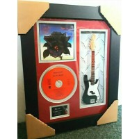"Thin Lizzy Black Rose Miniature 10"" Guitar & CD/Sleeve Framed Presentation"