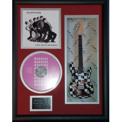 "Madness One Step Beyond Miniature 10"" Guitar & CD/Sleeve Framed Presentation"