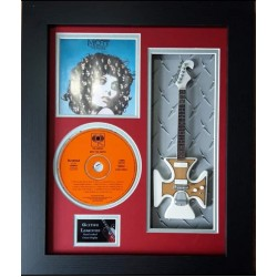 "Mott The Hoople  Miniature 10"" Guitar & CD/Sleeve Framed Presentation"