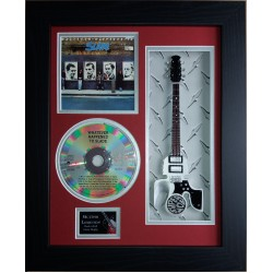 "Slade Whatever Happened To..Miniature 10"" Guitar & CD/Sleeve Framed Presentation"