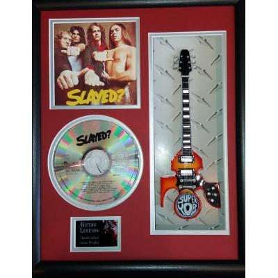 "Slade Slayed Miniature 10"" Guitar & CD/Sleeve Framed Presentation"