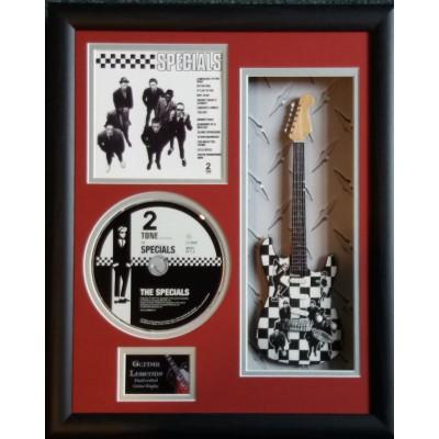 "The Specials Miniature 10"" Guitar & CD/Sleeve Framed Presentation"