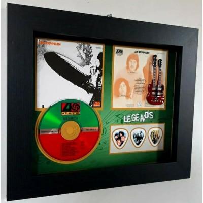 Led Zeppelin CD, Sleeve, Guitar and triple plec set