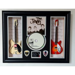 The Jam In The City Double Mini Guitar, CD & Plectrum Presentation