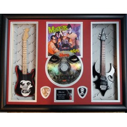 Misfits Scary Monsters Double Mini Guitar, CD & Plectrum Presentation