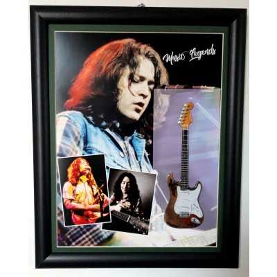 Rory Gallagher Flat Metal Framed Guitar