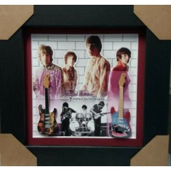 Pink Floyd Miniature Framed Guitar