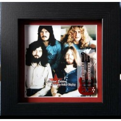 Led Zeppelin Miniature Framed Guitar