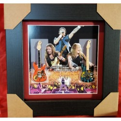 Iron Maiden Miniature Framed Guitar