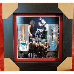 Metallica Miniature Framed Guitar