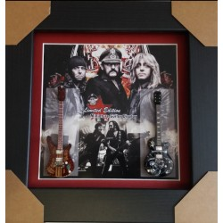 Motorhead Miniature Framed Guitar