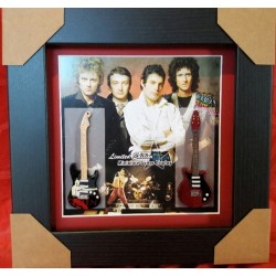 Queen Miniature Framed Guitar
