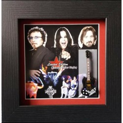 Black Sabbath Miniature Framed Guitar
