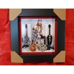 ZaKk Wylde Miniature Framed Guitar