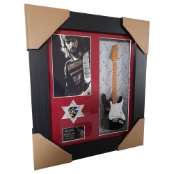 "Eric Clapton ""Blackie"" Framed Guitar & Plectrum Presentation"