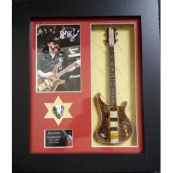 Motorhead Framed Guitar & Plectrum Presentation