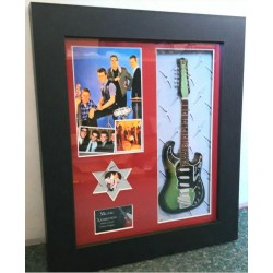 The Shadows Framed Guitar & Plectrum Presentation