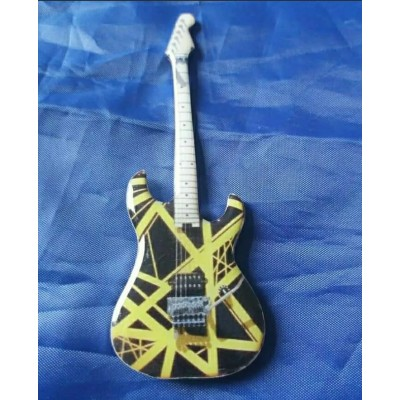 Eddie Van Halen Stainless Steel Guitar Shaped Fridge Magnet