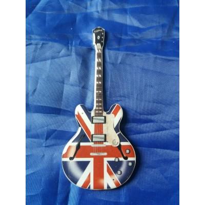 Noel Gallagher Oasis Stainless Steel Guitar Shaped Fridge Magnet