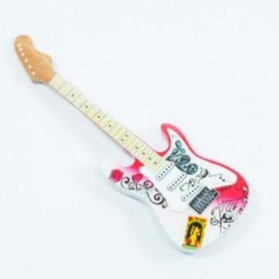 Jimi Hendrix Montreaux wooden fridge magnet