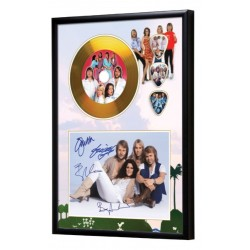 ABBA Gold Look CD & Plectrum Display