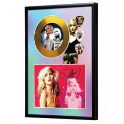 Blondie Gold Look CD & Plectrum Display
