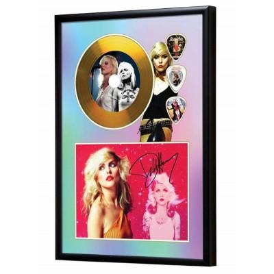 Blondie Gold Look CD & Plectrum Display