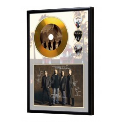 Eagles Gold Look CD & Plectrum Display