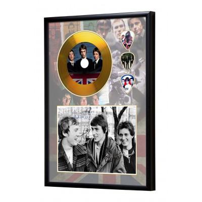 The Jam Gold Look CD & Plectrum Display