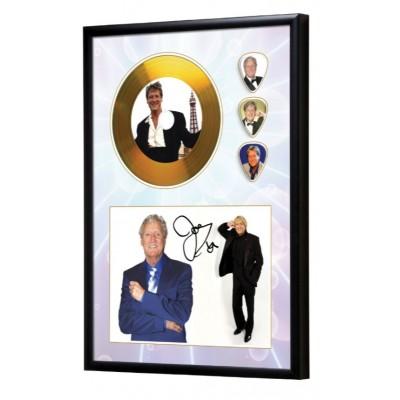 Joe Longthorne Gold Look CD & Plectrum Display