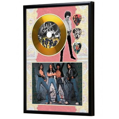 Thin Lizzy Gold Look CD & Plectrum Display