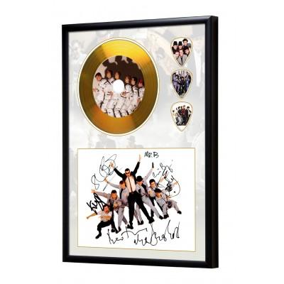 Madness Gold Look CD & Plectrum Display