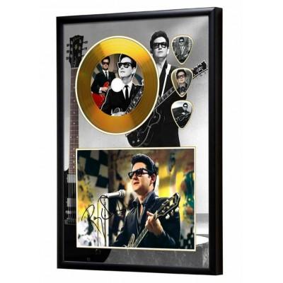 Roy Orbison Gold Look CD & Plectrum Display