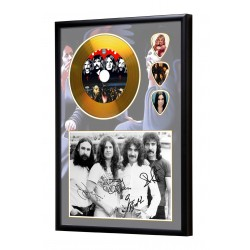 Black Sabbath Gold Look CD & Plectrum Display