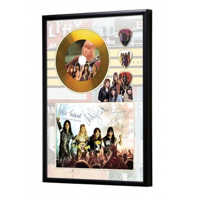 The Sweet Gold Look CD & Plectrum Display