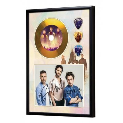 Take That Gold Look CD & Plectrum Display