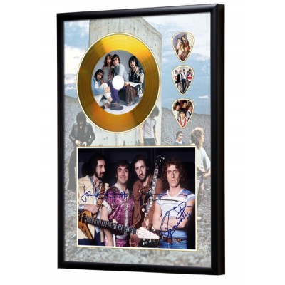 The Who Gold Look CD & Plectrum Display