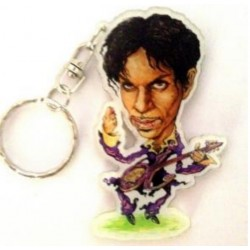 Prince Caricature Acrylic Key Ring