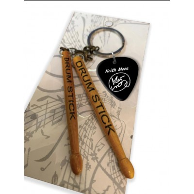 The Sweet Mick Tucker drumstick Keyring