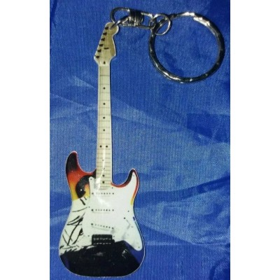 Eric Clapton Stainless Steel 10cm Guitar Key Ring