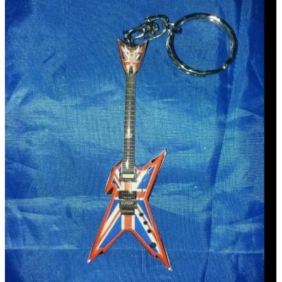 Dimebag Darrell Stainless Steel 10cm Guitar Key Ring