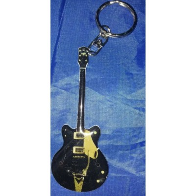 George Harrison The Beatles Stainless Steel 10cm Guitar Key Ring