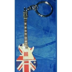 Oasis Noel Gallagher Stainless Steel 10cm Guitar Key Ring