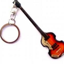 Paul McCartney Stainless Steel 10cm Guitar Key Ring